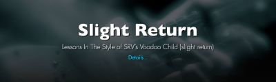 "Presenting ""Slight Return"" - In The Style of SRV's Voodoo Child (slight return)"