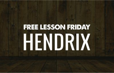 Free Lesson Friday Roundup: 17 Hendrix Free Lessons