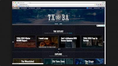 TXBA Gets A Facelift