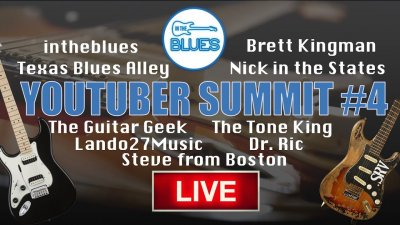 InTheBlues YouTuber Guitar Summit #4