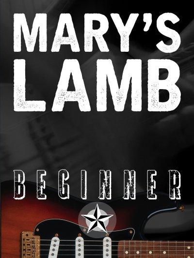 Mary's Lamb: Beginner Lesson