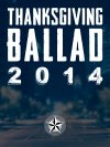 Thanksgiving Ballad 2014 - Downloads