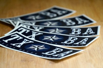 TXBA Stickers 5-Pack