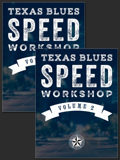 Texas Blues Speed Workshop - Bundle