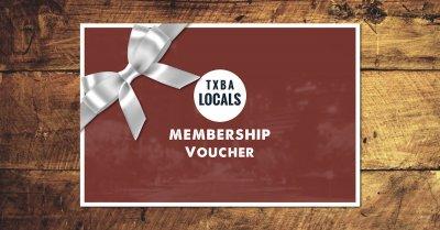 TXBA Locals Paypal Voucher